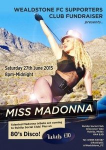 Madonna Ruislip X